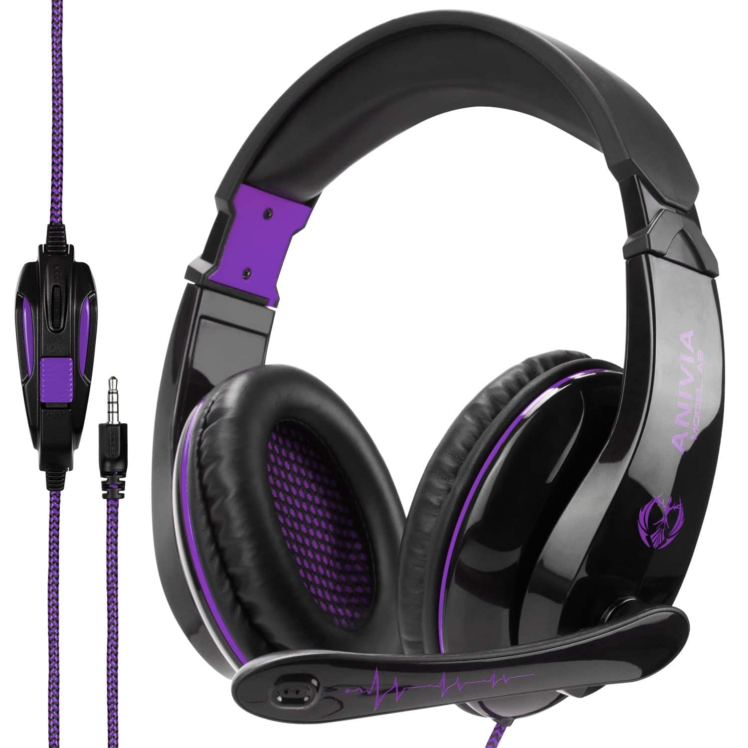 A9 Stereo Gaming Headset for PS4 Xbox One Nintendo Switch Phone Tablet Mac Games PC Computer-13.99+Free Shipping