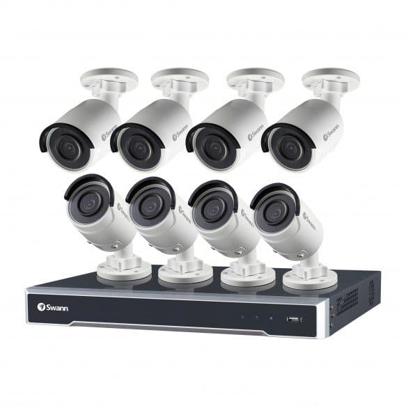 Swann NVR16-7500 16 Channel 5MP Super HD HD Network Video Recorder & 8 x NHD-850 5MP Cameras at Swann $799.99
