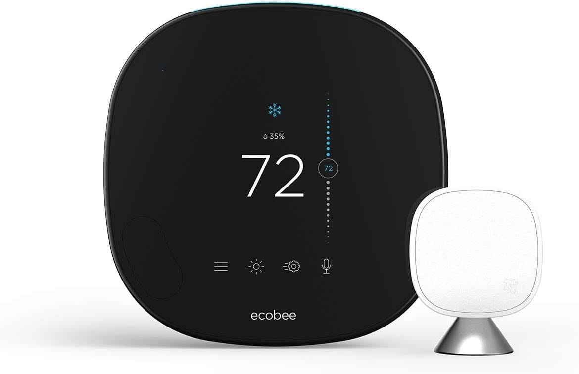 ecobee SmartThermostat with Voice Control - Used like new - $156 after 20% Amazon Warehouse discount + FS