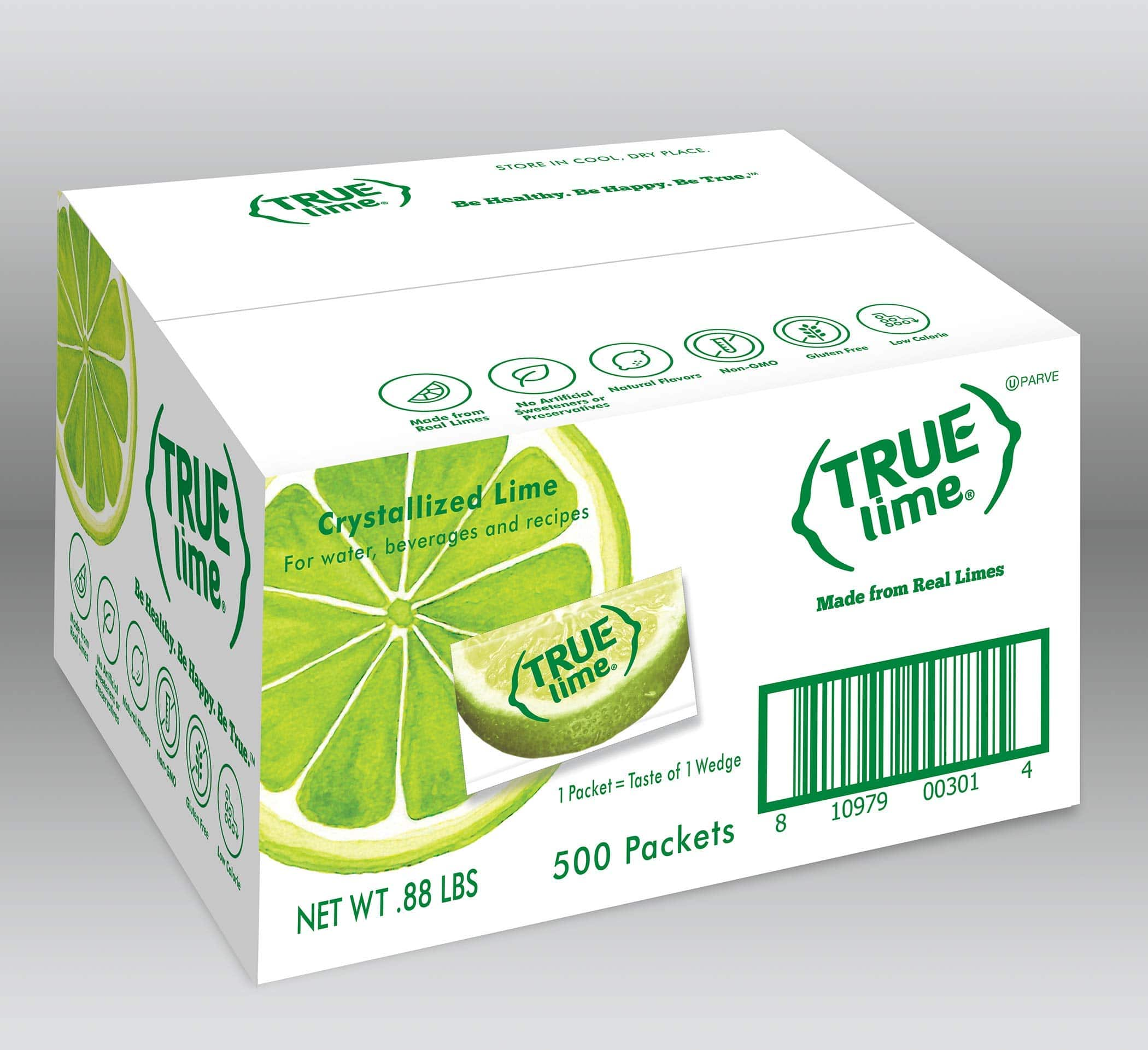 TRUE LIME Water Enhancer, Bulk Pack (500 Packets) $17.99 at Amazon, YMMV