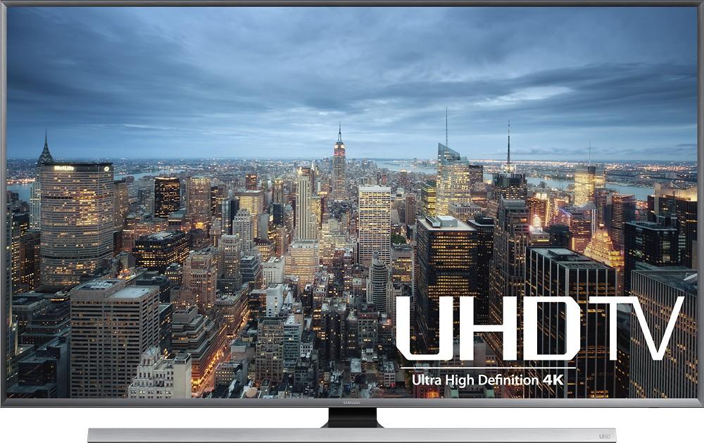 "Samsung UN75JU7100FXZA 75""  LED - 2160p - Smart - 3D - 4K Ultra HD TV free shipping at Best Buy"