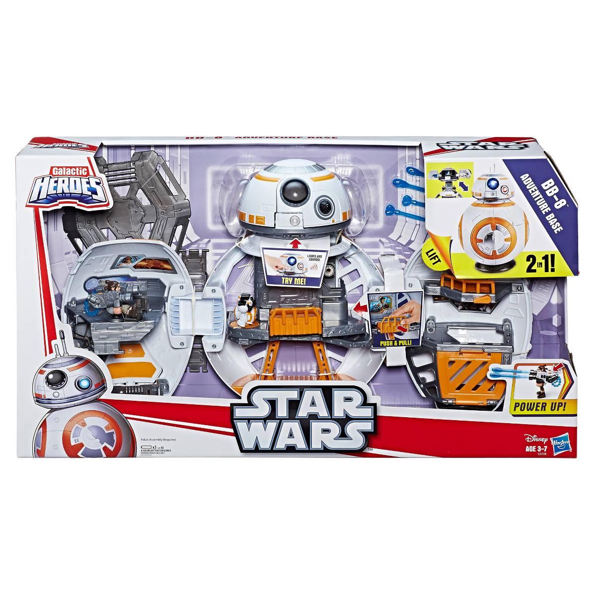 Playskool Heroes Star Wars Galactic Heroes BB-8 Adventure Base Target.com $36.99