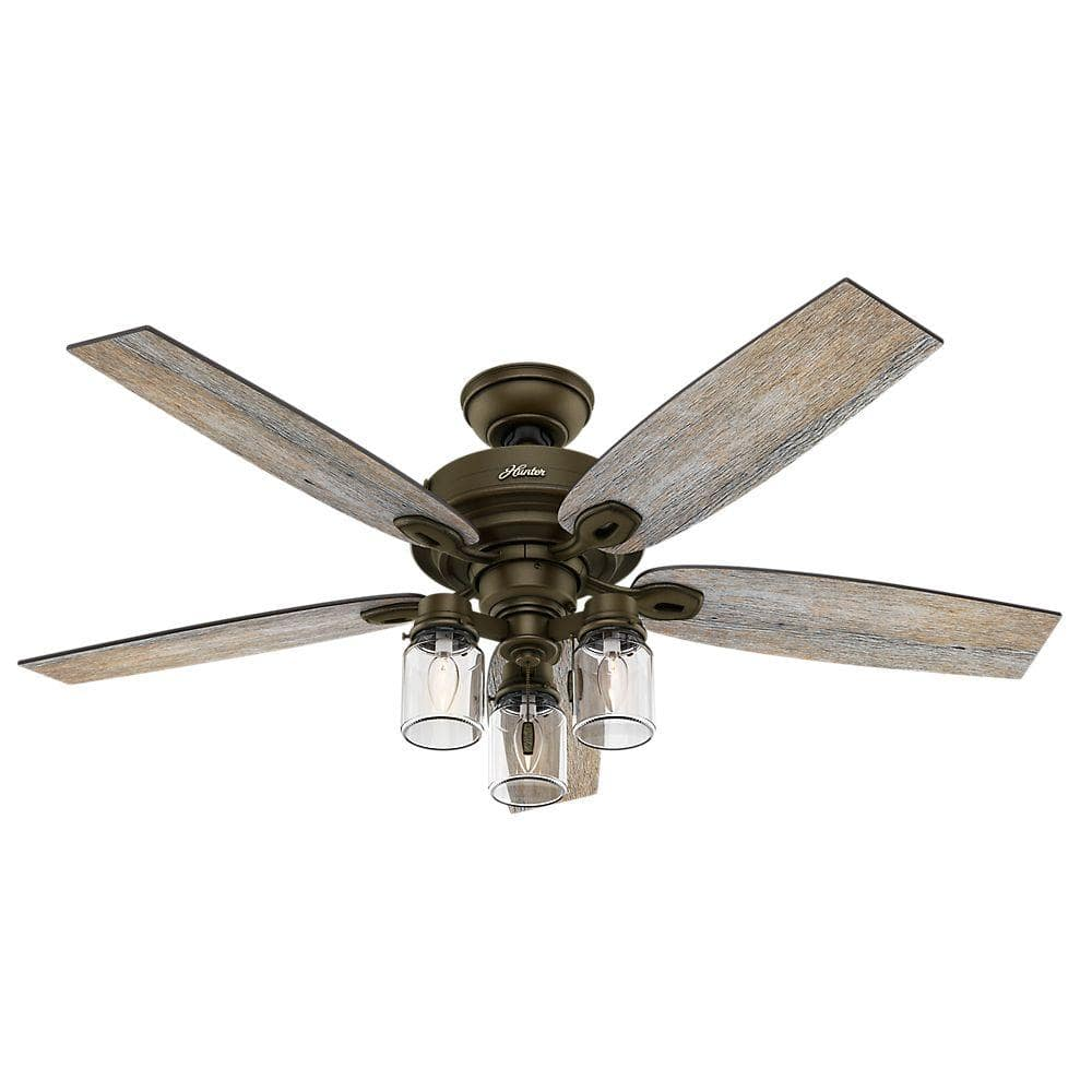 Indoor Regal Bronze Ceiling Fan 129 Only Normally