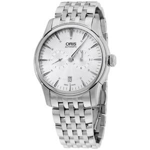 Oris Artelier Automatic Silver Dial Men's Watch 749-7667-4051-MB for $628.99
