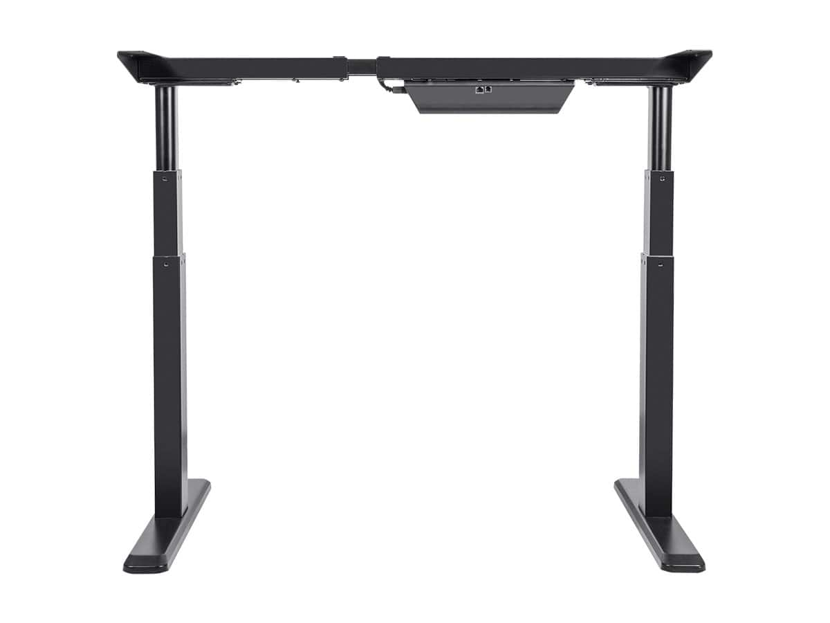 Monoprice sit-stand electric desk is $225 after 25% coupon (and filler) Best ever price