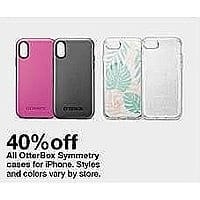 finest selection 700af 0c3e1 Target Weekly Ad: OtterBox Symmetry Cases for iPhone - 40% Off ...