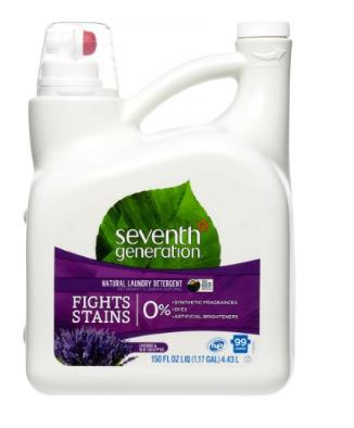 Seventh Generation Natural Laundry Detergent, Blue Eucalyptus & Lavender, 99 Loads: $15.19