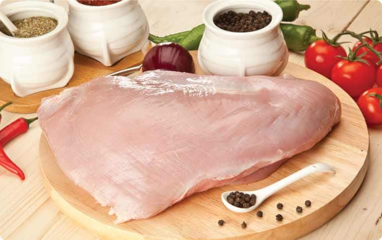 $1.89/lb Direct-From-the-Farm Boneless Skinless Chicken Breasts