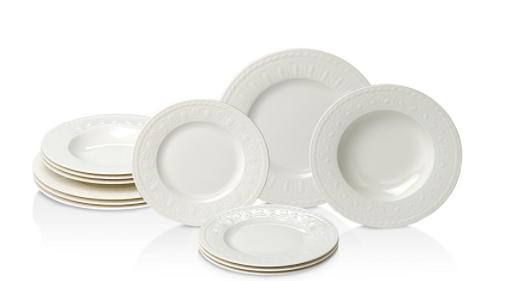 Villeroy & Boch Cellini 12-Piece Dinnerware Set $99 + Free In-Store Pickup