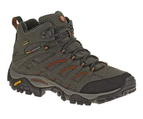 Men's Moab Mid Gore-Tex® Hiking Boots: $105 + Free Shipping