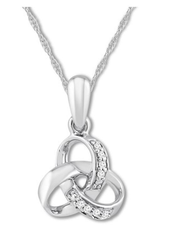 Kay Jewelers: Diamond Necklace & Diamond Earrings: $19.99/ea + FS