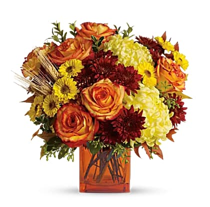 Teleflora: 20% Off Thanksgiving Flowers & Centerpieces