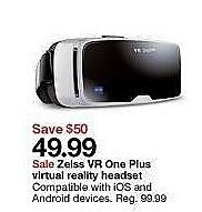 Target Weekly Ad: Zeiss VR One Plus Virtual Reality Headset for $49.99