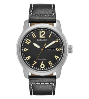 Citizen BM8471-01E Black Stainless Steel Chandler Men's Eco-Drive Watch: $104 + Free Shipping