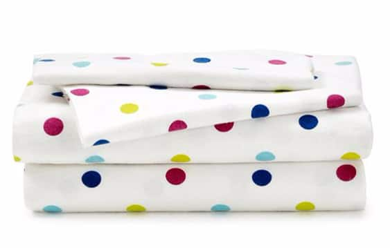 Bon-Ton: $20 Twin & Full Size Fleece and Flannel Sheet Sets (Reg $60) + FS on $25+
