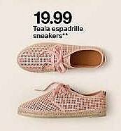 Target Weekly Ad: Teala Espadrille Sneakers for $19.99