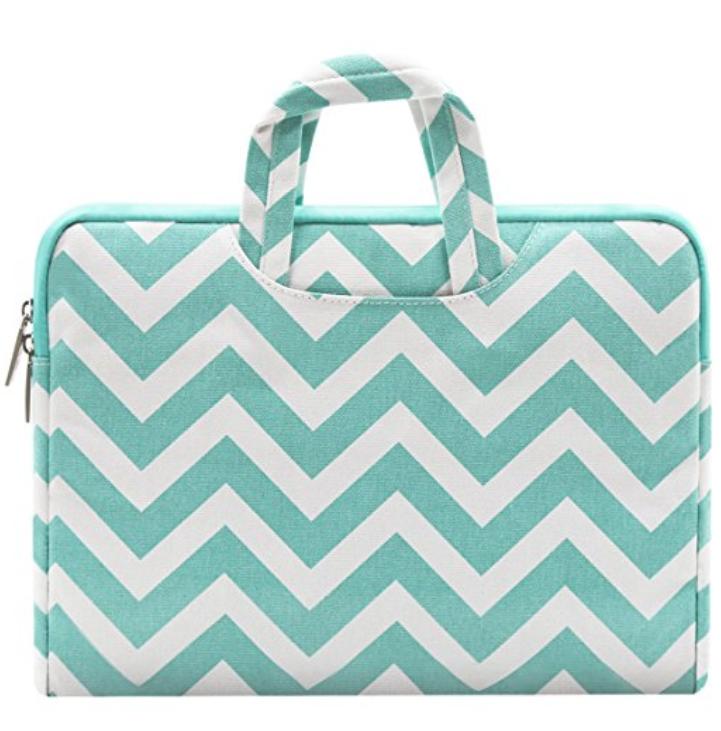 Mosiso Chevron Style Laptop Sleeve Briefcase Handbag: $8.99 & More + Free shipping