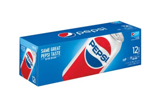 PepsiCo Beverages: 12oz/12 Packs: $3.50 + Free Store Pickup at Walmart