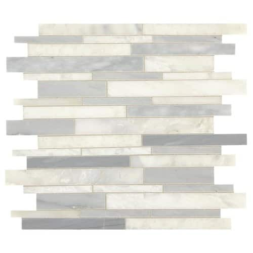 Mosaic Wall Tile @ Lowe's B&M YMMV  great avail @$3.19/tile, as low as $0.80/tile