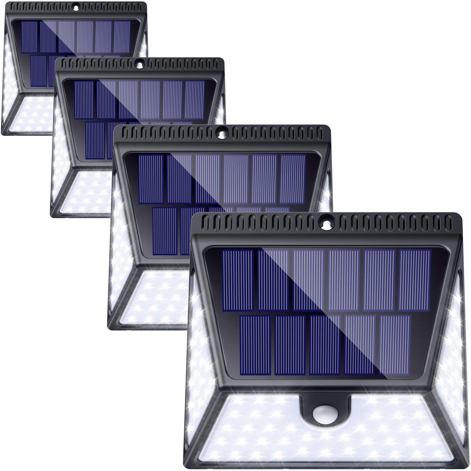 Save $30 off for Luscreal 82 LEDs Wireless Solar Lights 4 Pack - $29.99 @Amazon
