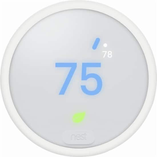 Nest Thermostat E - White for $109.99 and Nest 3rd Generation Thermostat for $169.99 + Free Shipping at Navostore.com