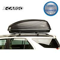 Sears Deal: Sears X-Cargo 20 cu ft cargo carrier $174.99 Today only