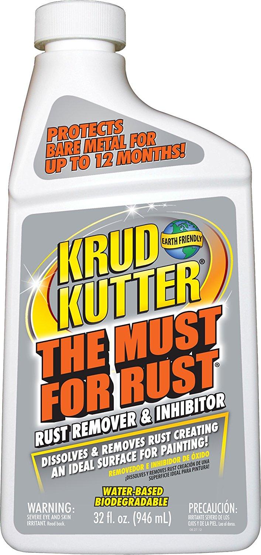 Krud Kutter Rust Remover, 1 Quart $5 Walmart YMMV