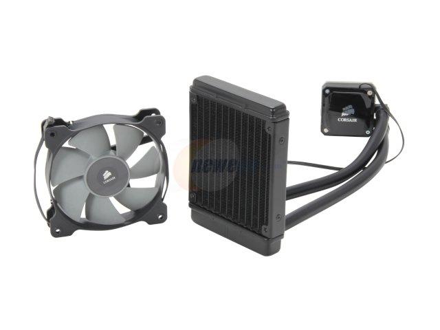 CORSAIR Hydro Series H60 High Performance Liquid CPU Cooler. 120mm $49.99 AR & free shipping at Newegg