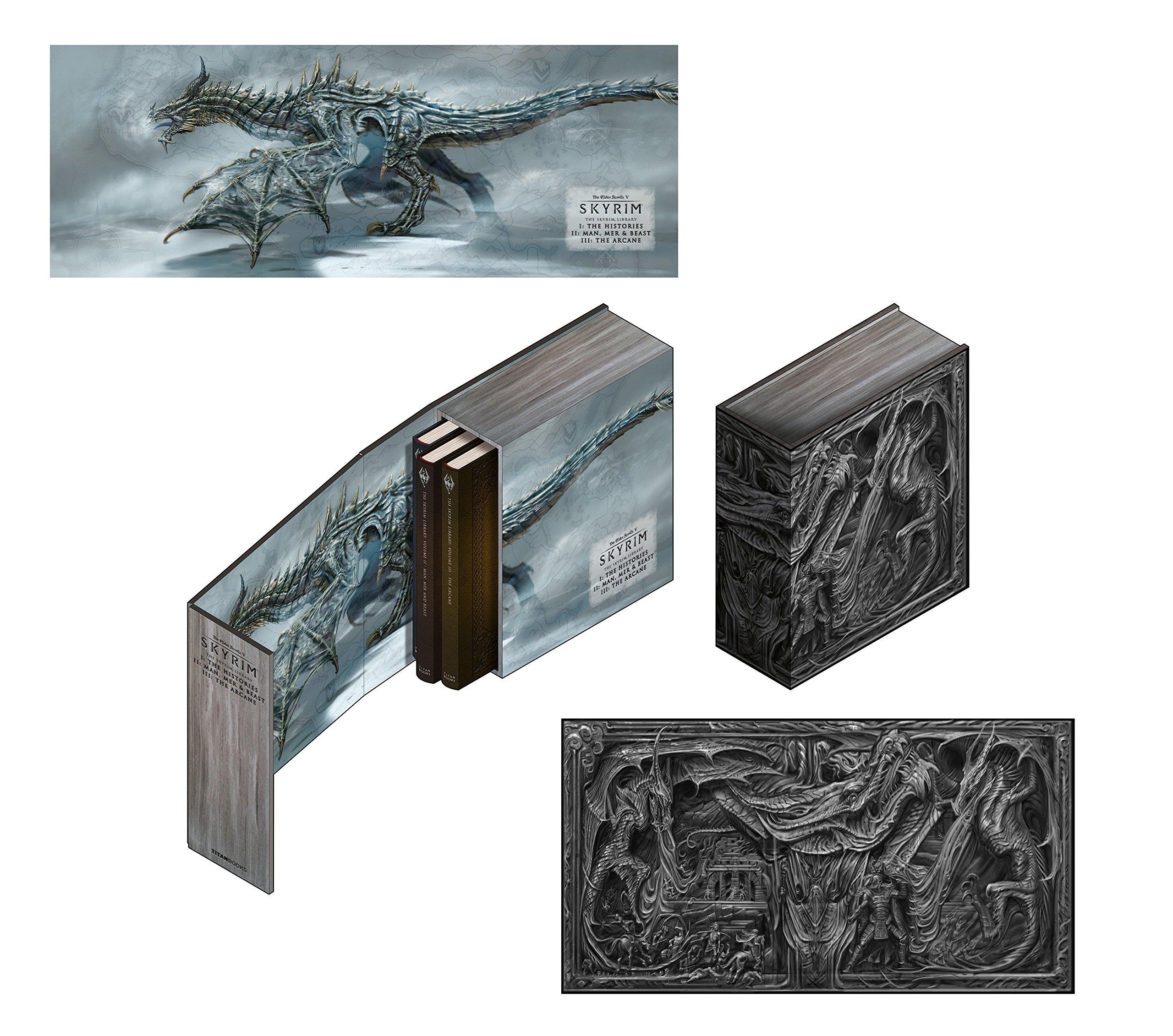 The Skyrim Library: Volumes I, II & III Box Set (Hardcover Books) $41.24 AC + Free Shipping via Amazon