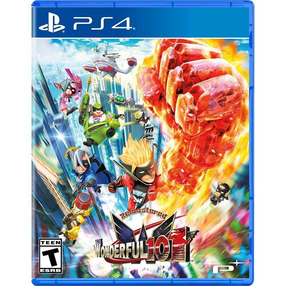 The Wonderful 101 Remastered Edition (PS4/PS5 or Nintendo Switch) $14.99 + Free Shipping via eBay/Best Buy