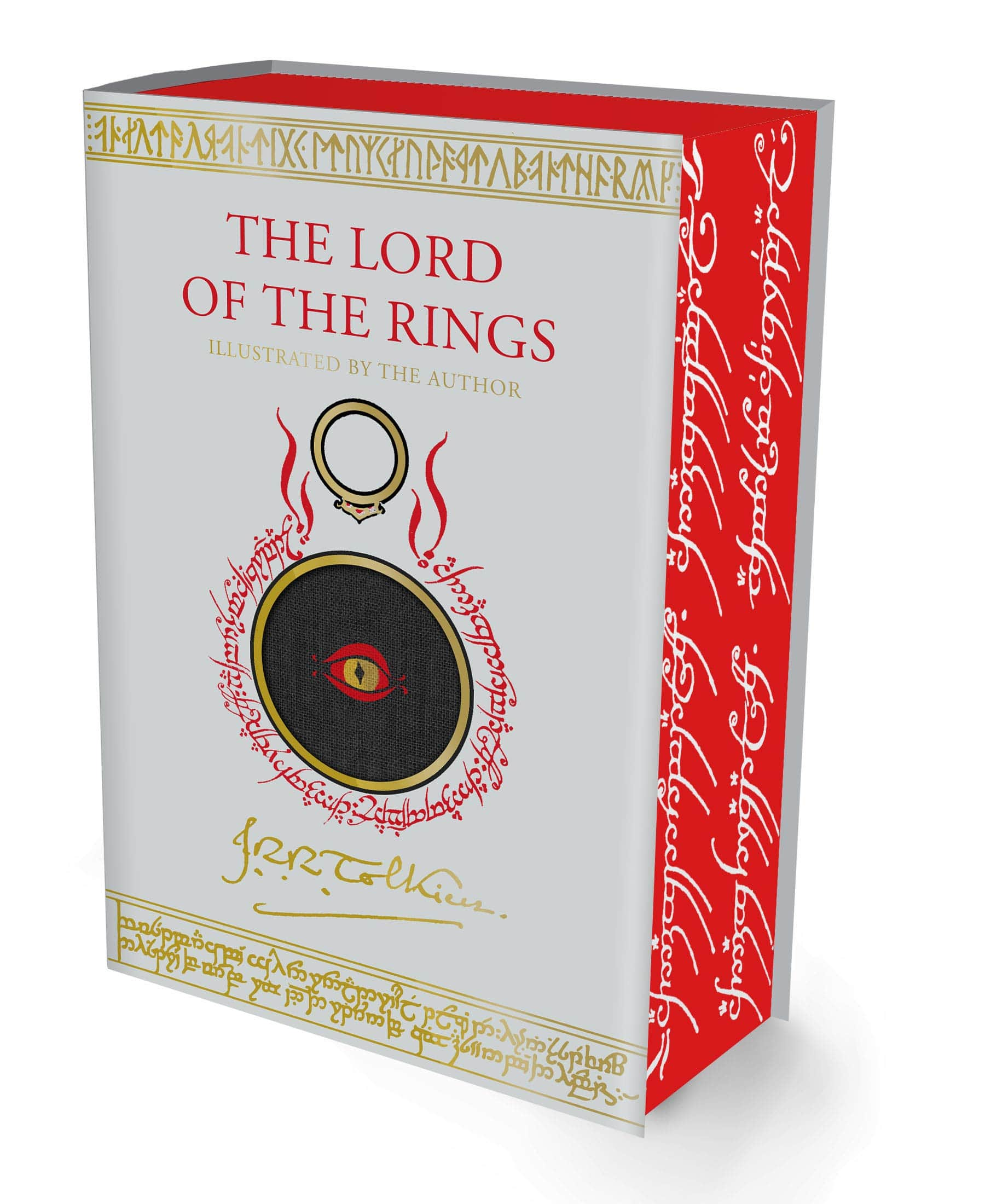 1248-Pages The Lord of the Rings Illustrated Edition Pre-Purchase (Hardcover Book) $45 + Free Shipping via Amazon
