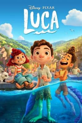 Disney's Pixar Luca (2021) (4K UHD Digital Film) $9.99 via Apple iTunes/VUDU or Amazon
