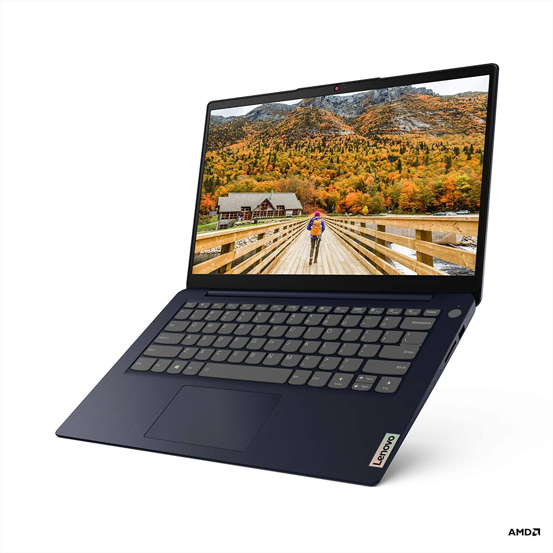 "Lenovo IdeaPad 3 Laptop: Ryzen 5 5500U, 14"" 1080p FHD, 256GB NVMe SSD, 8GB DDR4 RAM, Win 10 Home $409.99 + Free Shipping via Amazon"