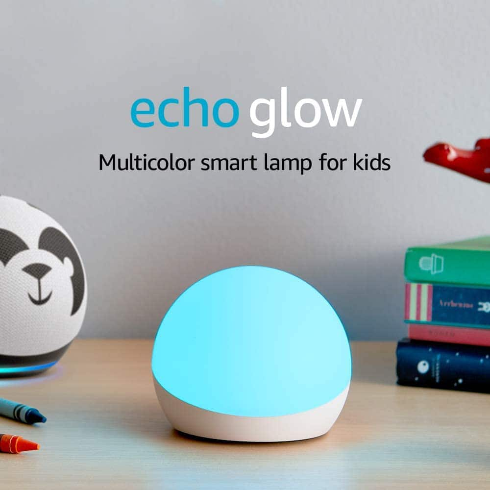 Amazon Echo Glow Multicolor Smart Lamp (Device Only) $5.55