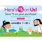 Toys R Us/Babies R Us Printable Coupon: $5 Off In-Store Purchase