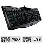 Logitech G110 USB Wired LED Backlit Gaming Keyboard