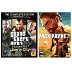 Grand Theft Auto IV: Complete Edition & Max Payne 3 Bundle (PC Digital Download)