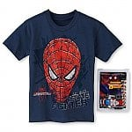 Mad Engine Boys 4-7 T-Shirts w/ Marvel Transforming Toy: Spiderman $3, Avengers