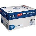 "Case (10 Reams) of Staples 8 1/2"" x 11"" Copy Paper Select"