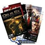 PC Digital Download Bundle: Deus Ex: Human Revolution Augmented Edition w/ DLC + Just Cause + Just Cause 2 + Hitman Blood Money + The Last Remnant + Quantum Conundrum + Supreme Commander 2