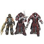 "Gears of War: 7"" Action Figures: Golden COG Soldier, Theron Sentinel v.2, Theron Sentinel v.3"