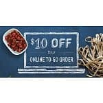 Romano's Macaroni Grill Coupon: $10 off $20 Online Orders