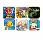 6 Select Android Apps w/ 120 Amazon Coins ($1.20 Value): Angry Birds Star Wars Premium HD, Splashtop Whiteboard, The Room, Diner Dash Deluxe & More