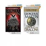 Kindle Edition eBooks: A Game of Thrones: A Song of Ice and Fire (Book One), A Dance with Dragons: A Song of Ice and Fire (Book Five)
