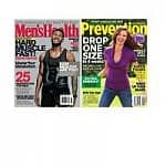 Men's Health Magazine $7, Prevention Magazine
