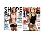 Women's Health Magazine $5, Shape Magazine