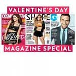 Valentine's Day Magazine Sale from