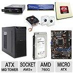 AMD FX-4130 Quad Core PC Barebones Bundle Kit