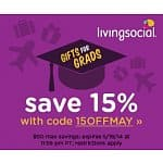 LivingSocial Coupon for Additional Savings: 15% Off Sitewide (Max $50 Discount)