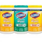 225-Count Clorox Disinfecting Wipes Value Pack (Fresh Scent + Citrus Blend)